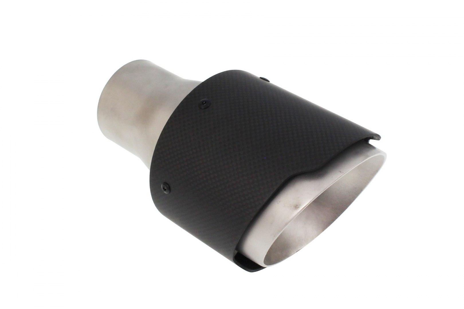 Końcówka tłumika 114mm wejście 63mm Carbon - GRUBYGARAGE - Sklep Tuningowy